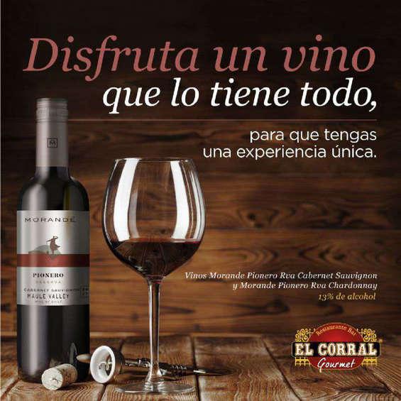 Ofertas de El Corral Gourmet, Disfruta Un Vino