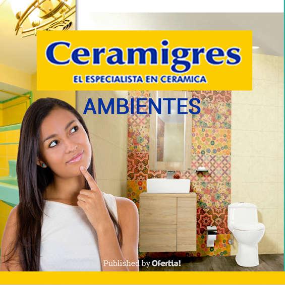 Ofertas de Ceramigres, Ceramigres ambientes
