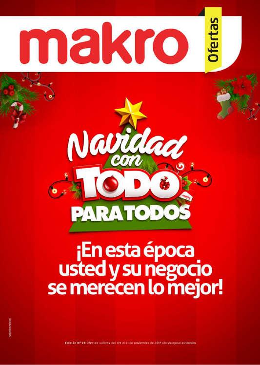 Ofertas de Makro, Makro Ofertas - Navidad con todo para todos