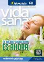 Ofertas de Droguería Colsubsidio, Revista Vida Sana - El mejor momento es ahora
