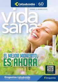 Revista Vida Sana - El mejor momento es ahora