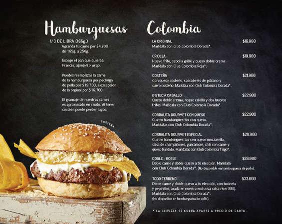 Ofertas de El Corral Gourmet, El Lugar De Las Hamburguesas