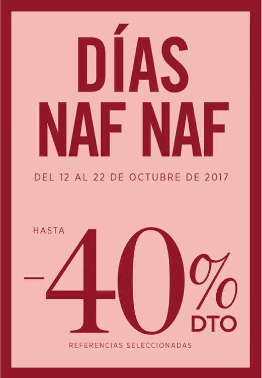 Ofertas de Naf Naf, Días Naf Naf - Hasta 40%DTO