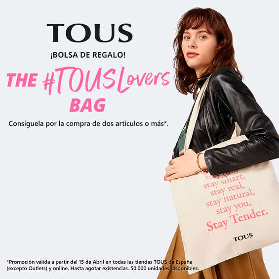 Ofertas de Tous, The #TousLovers bag