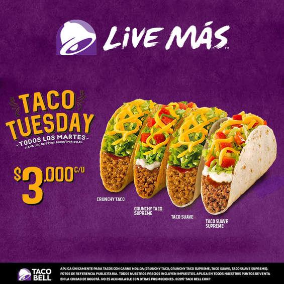 Ofertas de Taco Bell, Taco Tuesday