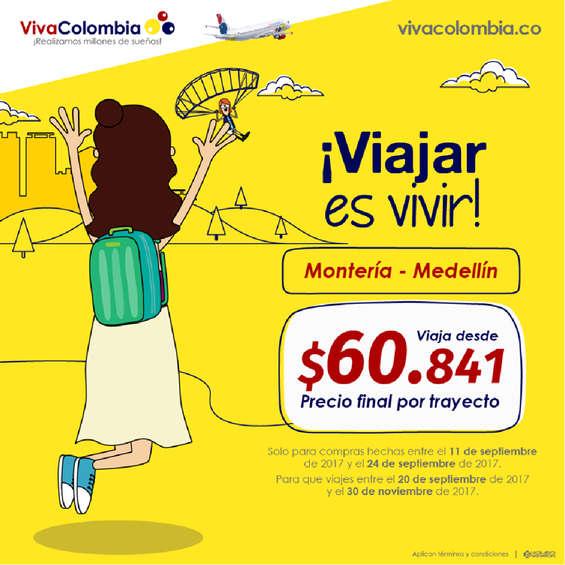 Ofertas de Viva Colombia, ¡Viajar es vivir!