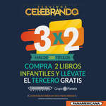 Ofertas de Librería Panamericana, 3x2