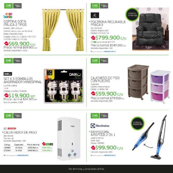 Ofertas de HomeCenter, Catálogo Puntos CMR - Home Center