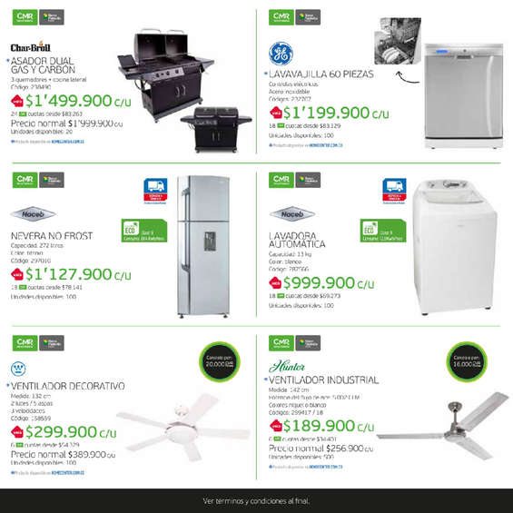 Ofertas de HomeCenter, Catálogo Puntos CMR - Home Center