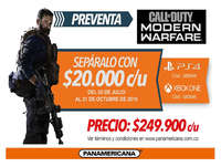 Preventa Call of duty