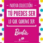 Ofertas de Calzatodo, Colección Barbie - Tú puedes ser lo que quieras ser