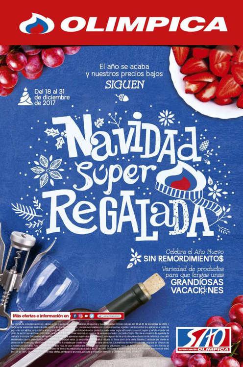 Ofertas de Super Tiendas Olímpica, Navidad Super Regalada