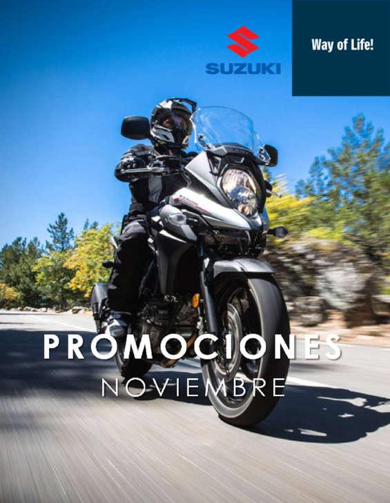 Ofertas de Suzuki Motos, Promociones Noviembre