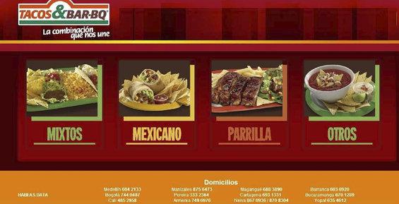 Ofertas de Tacos y Bar, Tacos Y Bar BQ