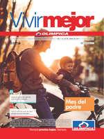 Ofertas de Droguería Olímpica, Revista Vivir Mejor - Mes del padre