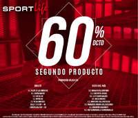 60%dcto en segundo producto