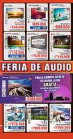 Ofertas de Alkosto, Feria de audio y televisores