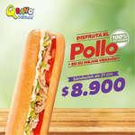 Ofertas de Sandwich Qbano, Disfrurta el pollo en su mejor versión